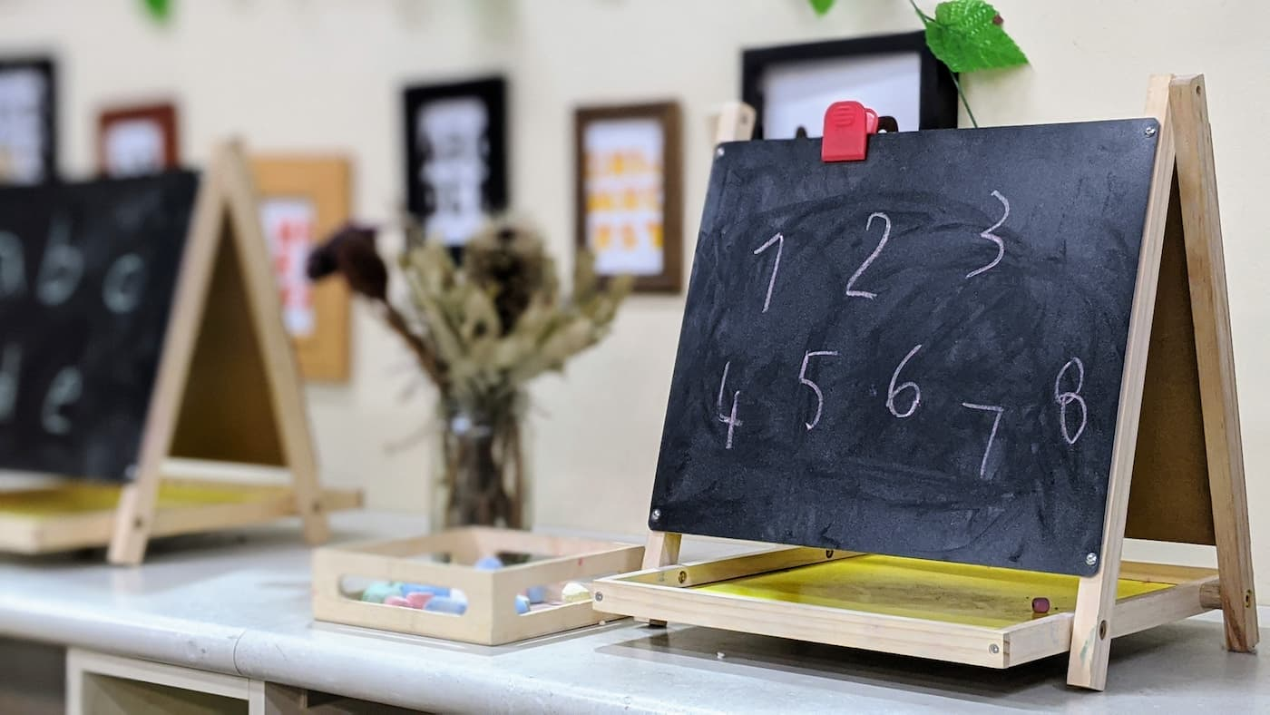 an example of math in early learning